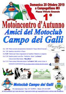 Volantino 1° Motoincontro Autunno 20-10-2019